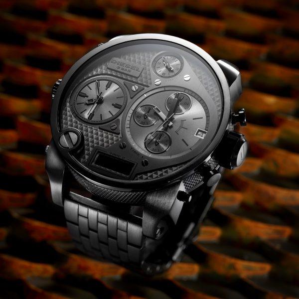 orologio, clock, diesel,