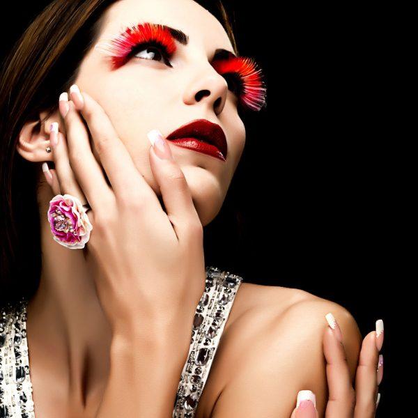 nails, girl